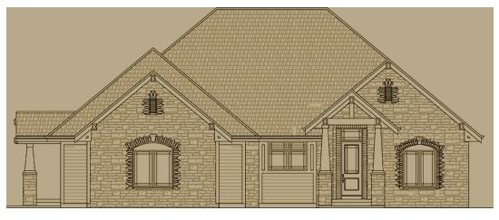 The aspen model home