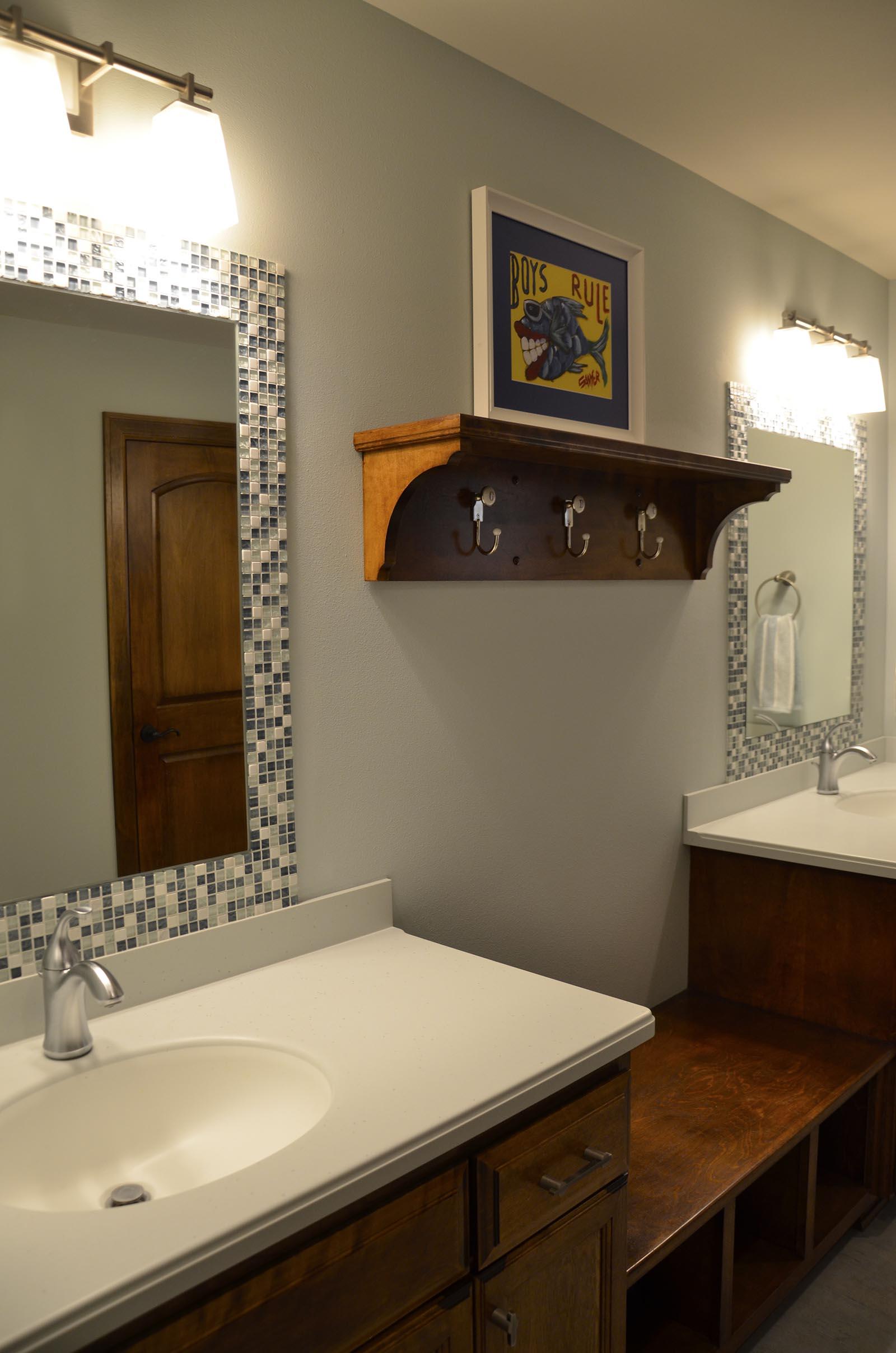 Baths: Zach Building Co.